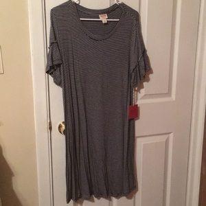 Mossimo Supply CO. Black/White Shirt Dress